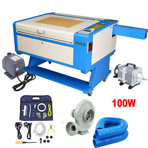 100w Co2 Laser Engraving Cutting Machine Engraver Cutter 28 x20 Usb Water Pump