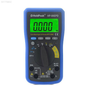 D0f3 Digital Multimeter Universal Meter Ac dc Voltage Resistance Capacitor Tool
