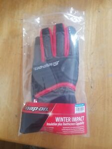 Snap On Impact Winter Gloves Size Medium