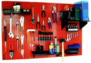 Wall Control Pegboard Standard Tool Storage Kit 32 In X 48 In Magnetic Panel