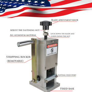 Fast Manual Wire Stripping Machine Copper Cable Peeling Stripper Drill Connector