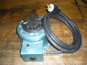 Staco Variable Transformer Variac 120 Volts In 0 140 Volts Out 22 Amps