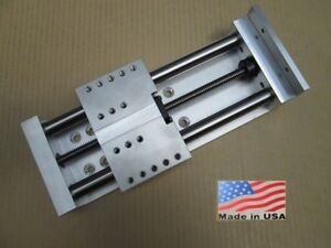 Z Axis 5 Fast travel Anti backlash Linear Slide Cnc Router Actuator