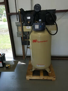 Ingersoll Rand Electric Air Compressor 24 Cfm 2475n 7 5 Hp Vertical 80 Gallon