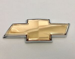 2006 2016 Chevy Impala Monte Carlo Front Or Rear Grille Bowtie Emblem Gold Oem