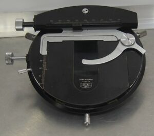 Zeiss Rotary Microscope Stage For Universal Photomicroscope Wl