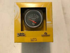 Auto Meter 2 1 16 Sport Comp 0 7 Bar Short Sweep Electronic Oil Pressure Gauge