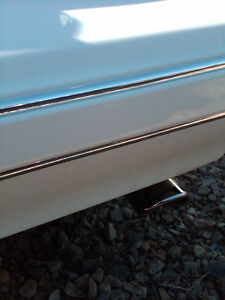 1987 1988 Monte Carlo Bumper Front Rear Chrome Trim Molding Set