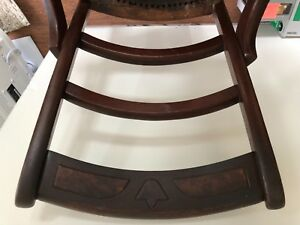 6 Victorian Walnut Hipster Chairs