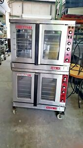 Blodgett Electric Mark V 111 Double Stack Deck Full Size Convection Oven