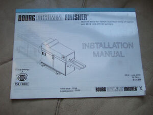 C p Bourg Bdfx Bourg Document Finisher Installation Manual Usa