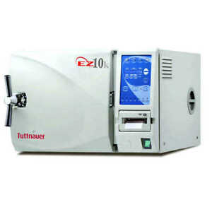 Unmatched 5 Yr Warranty Tuttnauer Ez10kp Kwiklave 220v New w printer