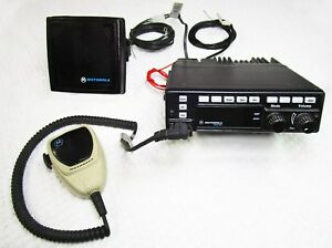 Motorola Astro 2 way Mobile Vhf 50 Watt Radio T99dx 086w_astro