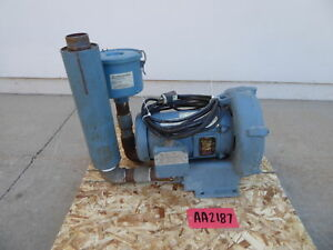 Eg g Rotron 5 Hp Aluminum Agitation Blower aa2187