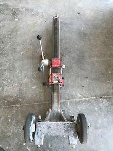 Milwaukee 4130 Core Drilling Drill Stand Rig