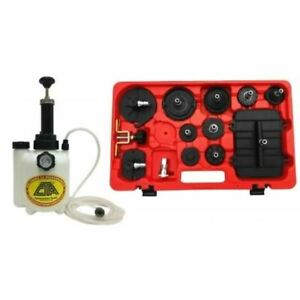 Cta Tools Pressure Brake Bleeder Adapter Master Kit 7310
