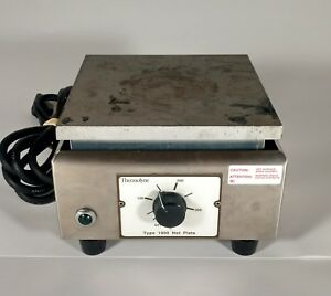 Thermolyne Hot Plate Type 1900 Laboratory Chemistry Model Hpa1915b Lot a