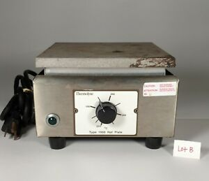Thermolyne Hot Plate Type 1900 Laboratory Chemistry Model Hpa1915b Lot b
