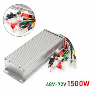 48 72v 1500w Electric E bike Scooter Brushless Motor Speed Controller Parts 1pc