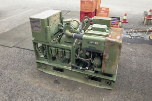 5kw 3 phase Military Generator Diesel Powered Mep 002a