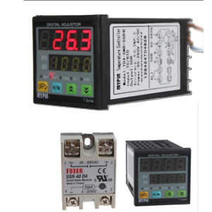 F c Digital Pid Td4 snr Temperature Controller Solid State Replay Ssr Ssr 40da