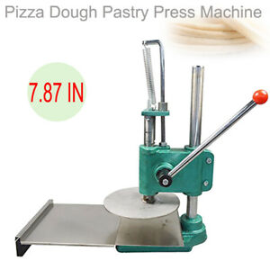 7 87in Pizza Dough Pastry Manual Press Machine Roller Sheeter Pasta Maker Stable