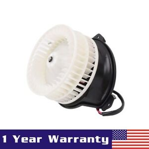 Front A c Ac Heater Blower Motor W Fan Cage For Chrysler Pacifica Dodge Caravan