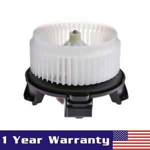 Heater A c Blower Motor W fan Cage For Compass Accord Edge Dts Pilot Mkx Rdx Tsx