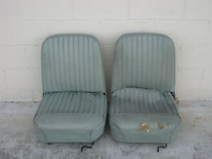 1960 S Era Sports Car Bucket Seats
