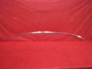 1970 1971 1972 1973 Firebird Trans Am Camaro Z28 Chrome Hood Trim Oem