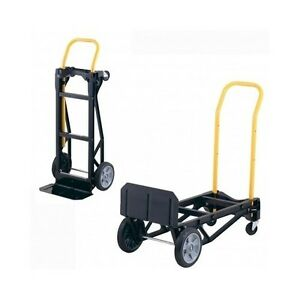 Hand Truck Cart Dolly Moving Storage Heavy Duty Foldable Utility Warehouse Tool