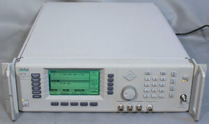 Anritsu 68377b Synthesized Sweep signal Generator 10 Mhz 50 Ghz Opts 2c 11 16