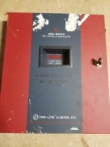 Fire lite Ms 5024 Fire Alarm Control Panel great Shape free Fast Shipping