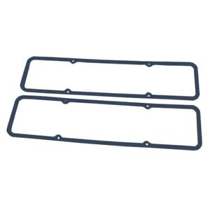 Blue Rubber Valve Cover Gasket Set Nw Steel Core For Early Sbc Valve Covers