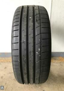 1x P225 40r18 Continental Extremecontact Sport 9 5 32nds Used Tire