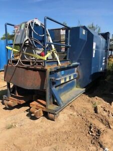 15yd Rudco Self Contained Trash Recycling Compactor