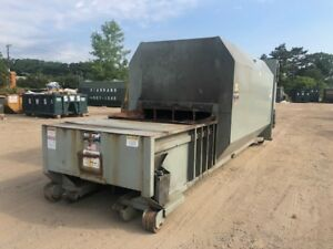 Trash Garbage Recycling 30yd Marathon Self Contain Compactor Sc100