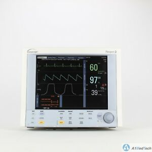 Datascope Passport 2 Patient Monitor With Color Display Nellcor Spo2