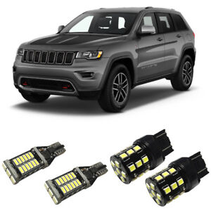 White Led 7440 921 Backup Reverse Light Bulbs For 2011 2019 Jeep Grand Cherokee
