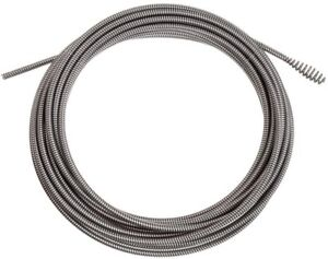 Drain Cleaning Snake Cable C 13 5 16 In X 35 Ft Inner Core Flexible Bulb Auger
