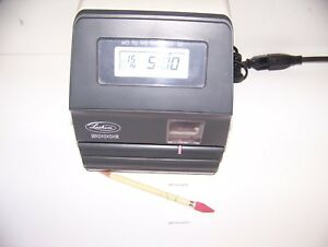 Lathem 5000e Time Stamp Clock Time Clock