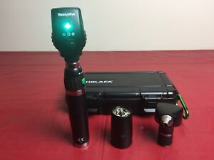 Welch Allyn Diagnostic Lithium Ion Handle Otoscope 20000a Ophthalmoscope 11720