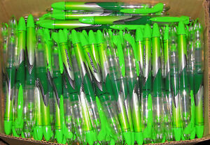 Lot Of 1000 Green Ink Paper Mate Liquid Expresso Capped Med Pt Porous Point Pens
