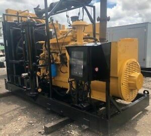 150 Kw Cat Caterpillar G3306ta 480v Natural Gas Generator Set