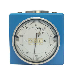 Magnetic Z Axis Dial Setter 0004 Gage Offset Pre Tool Cnc With Wooden Box
