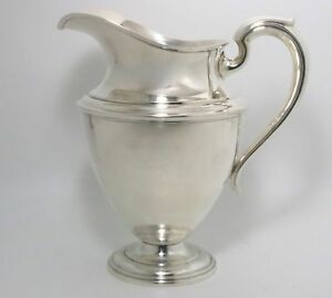 Sterling Silver Water Pitcher By Watrous