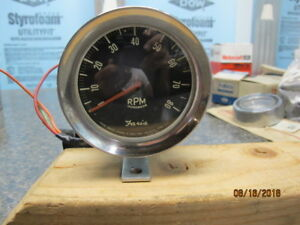 1968 1969 Ford Mercury Faria 8k 8cyl Tachometer Cup Rotunda Nice Condition