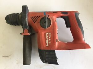 Hilti Te 4 a22 Rotary Hammer Drill Tool Only