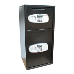 Large 30 5 Double Digital Safe Box Keypad Lock Home Office Hotel Reliable