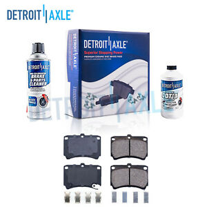 Front Ceramic Brake Pads Kit For Ford Aspire Escort Kia Rio Mazda 323 Protege